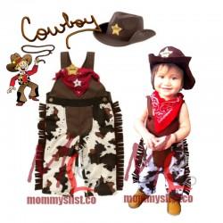 Cowboy 3-pc Set with Hat G