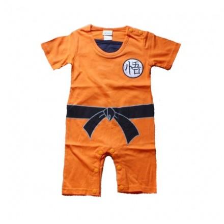 sc 1 st  MommysList & Dragonball Z Costume Romper (Goku) Short Sleeves