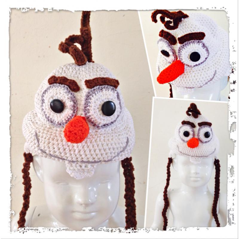 Frozen Crochet Kids Hats Party Invitations Ideas
