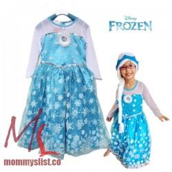 Elsa Costume Dress B