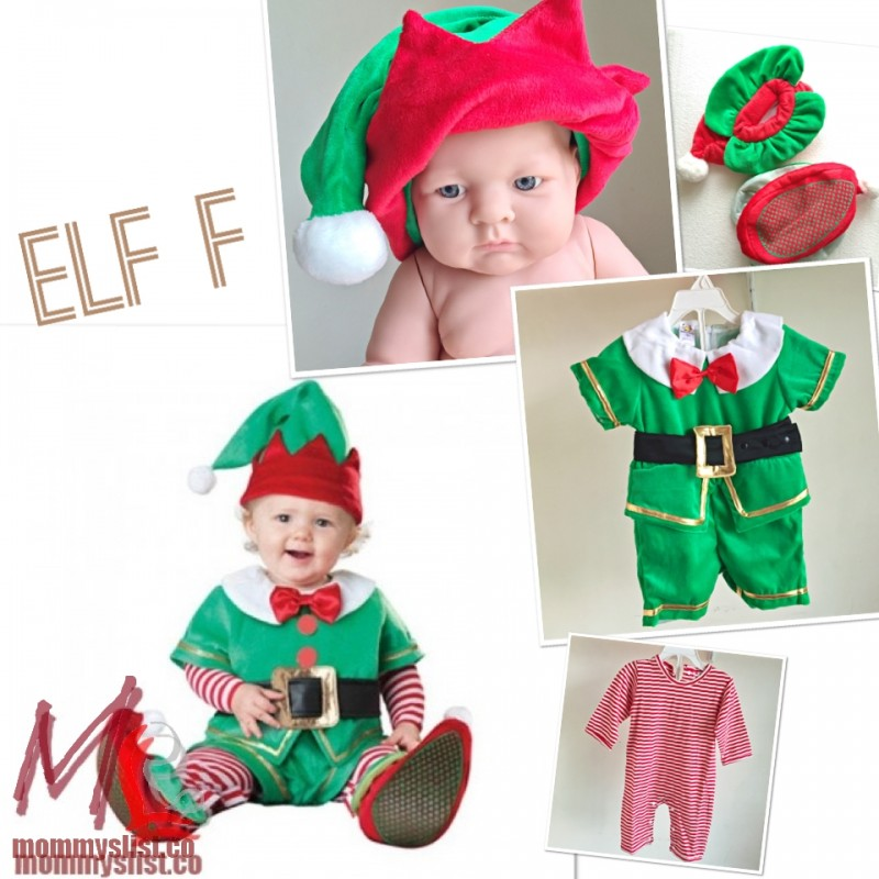 sc 1 st  MommysList & Elf Costume Jumpsuit F