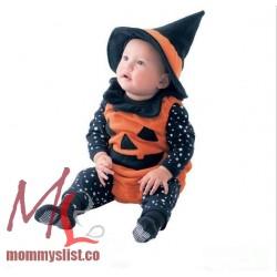 Pumpkin Costume Stars Set D