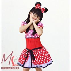 060-Minnie Mouse Tutu (with Headband)