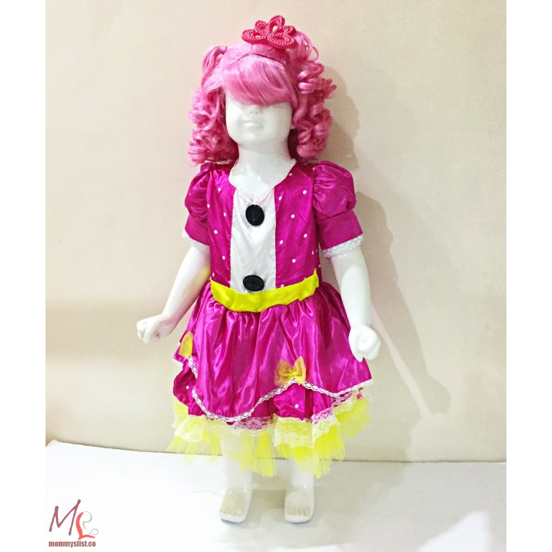 Lalaloopsy Jewel Sparkles Girls Costume_US1 (18-36M)  sc 1 st  MommysList & Lalaloopsy Jewel Sparkles Girls Costume_US1